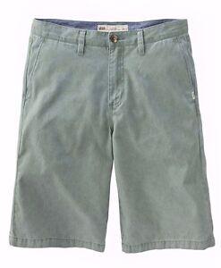 Vans LINDEN Boys Youth Chino Twill Shorts Size 26R North Atlantic NEW