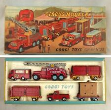 Corgi 1st Issue Major Toys Set 23 Chipperfields Circus Models Boxed