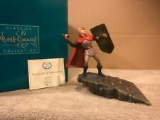 "Wdcc Sleeping Beauty - Prince Phillip ""Valiant"" + Box & Coa"