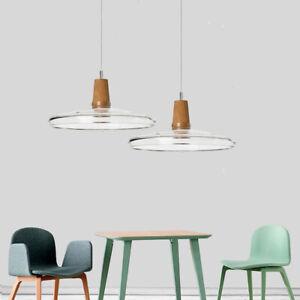 Glass Pendant Light Modern Ceiling Lamp Kitchen Lighting Bar Chandelier Lights