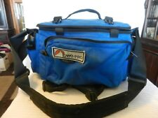 Vintage Lowe Pro Compact 35 Camera Carrying Case Blue with Straps