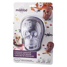 Mastrad 3D Chocolate Skull Mold - Set of 3