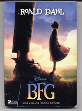 The BFG Movie by Roald Dahl (English) Paperback Book Movie Tie In