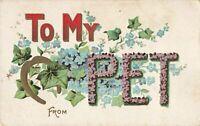 Postcard To My Pet
