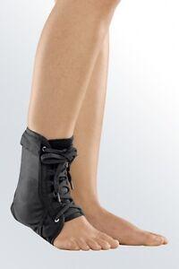medi lace up ankle plastic side support brace sports sock sprain stabiliser pain
