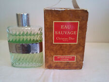 VINTAGE CHRISTIAN DIOR EAU SAUVAGE AFTER SHAVE BALM 100ML MENS FRAGRANCE RARE