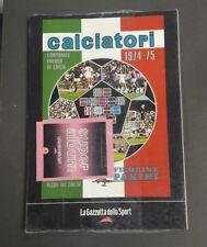 ALBUM CALCIATORI PANINI 1974 75  GAZZETTA DELLO SPORT SIGILLATO + BUSTINA N. 5