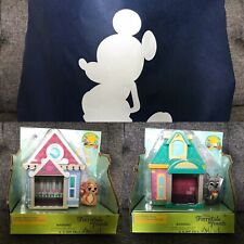 New Disney Furrytale Friends Starter Home Playsets Collette & Jock Disney Bag