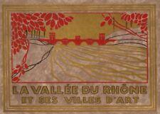 LA VALLEE DU RHONE ET SES VILLES D'ART, FRANCE, French Travel Poster 250gsm A3