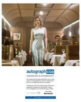 "Lea Seydoux ""No Time to Die"" AUTOGRAPH Signed 'Madeleine Swann' 8x10 Photo ACOA"