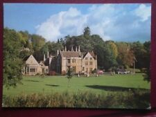 POSTCARD WILTSHIRE CASTLE COMBE - THE MANOR HOUSE HOTEL