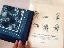 Vert & Bleu Marine Magnifique Nouveau My little box bleu foulard cheveux bracelet multi usage