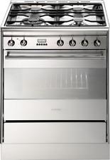SMEG FS61XNG8 Dual Fuel Cooker