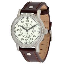Aristo Hombres Piloto Reloj Automático 3h42 LB ETA 2824-2 NIGHTFLIGHT 5atm
