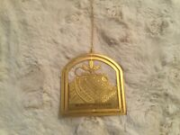 Easter Seals 1990 Collector's Christmas In Columbus Christmas Ornament -B35