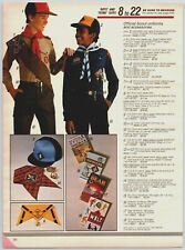 1986 Boy Scout Uniforms  Print Ad Clippings