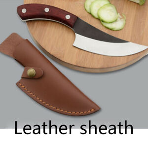 Knife Cover Chef Butcher Kitchen Tools Full Tang Handle Leather Knife Sheath UO