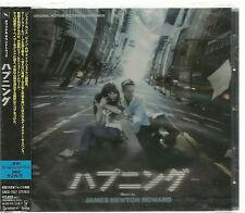 THE HAPPENING - JAMES NEWTON HOWARD JAPAN OBI 2008 GENEON TOP RARE OOP SEALED