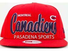 "MONTREAL CANADIENS SNAPBACK CAP ""NEW ERA"" NWT nhl subban"
