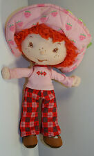 "2003 Strawberry Shortcake 10"" Plush Stuffed & Beanie Baby Doll by Bandai"