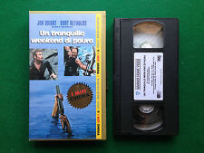 Film VHS - UN TRANQUILLO WEEKEND DI PAURA B.Reynolds , I Miti del Cinema (1972)