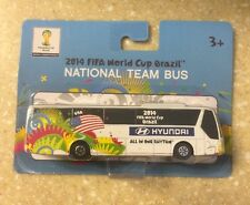 2014 World Cup FIFA Brazil USA Hyundai National Team Bus MAISTO 1:90 Team USA E1