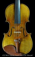 """Bench Copy Antique Antonio Stradivarius 1716 """"Messiah"""" Violin Warn Projective"""