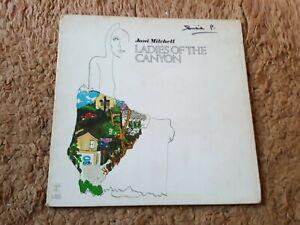 "JONI MITCHELL     ""LADIES OF THE CANYON"" VINYL LP A1 / B1"