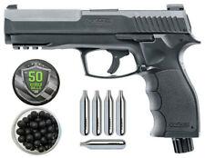 Pack Pistolet Home Defense T4E HDP 11J Cal .50 + Boite de 100 billes caoutchouc