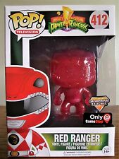 Funko Pop! Vinyl: Television #412 Red Ranger (Morphing) GameStop Exclusive[MINT]