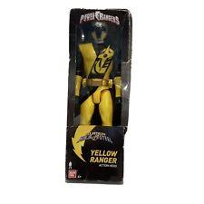 2018 Bandai Power Rangers Super Ninja Steel Yellow Ranger Action Hero