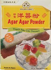 Agar Agar Powder 6 Oz. / 170g  Golden Coins Brand Product of USA