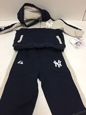 New York Yankees Baby Outfit Size 6/9 Months 2 Pieces Sweat Suit MLB Majestic