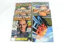 Lot of Star Trek Deep Space Nine , Voyager, Star Trek Iv Movie Magazines