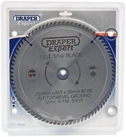 Genuine DRAPER Expert TCT Saw Blade 250X30mmx80T 9489