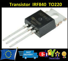 IRF840 Transistor N Channel MOSFET  TO220 Vishay Siliconix - New - Fast Shipping