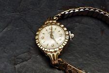 ladies 9ct gold watch Art deco case
