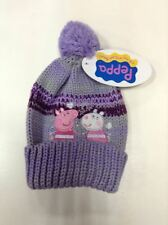 Cappello con bon bon Peppa Pig  color viola rosa taglia 52 bambina  Disney -50%