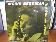 Sealed LP - Soundtrack - The Human Voice - TC-1118 - Ingrid Bergman