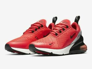New Nike Air Max 270 Running Shoes Athletic Gym Training Red-Black-Grey SIZES 🔥