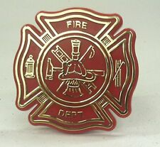 """Fire Department Trailer Hitch Receiver Cover Fits 1-1/4"""" Square Receivers"""