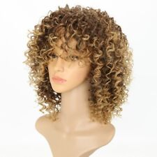 Blonde Kinky Curly Wig Afro Soft SyntheticNP2C