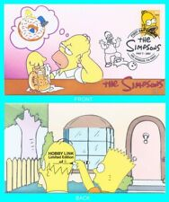 The Simpsons Homer First Day Cover Type 2