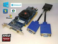 HP Pavilion Slimline 400-034 400-334 HD Dual VGA Video Card Low Profile