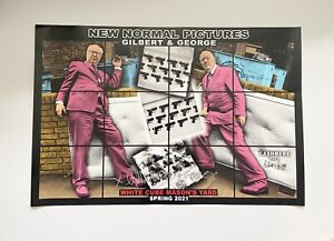 Gilbert And George - New Normal Pictures - Signed Print - White Cube - 2/4