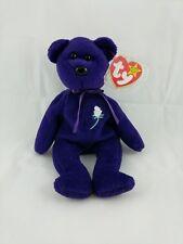 Ty Beanie Baby Princess Diana Purple Teddy Bear 1997 Retired Mint Canada Pe
