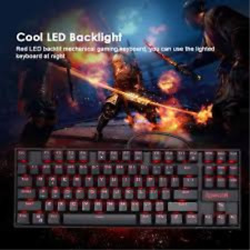 REDRAGON K552 Mechanical Gaming Keyboard Splash-proof Water USB Wired B