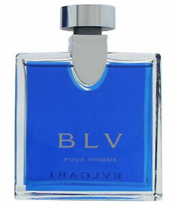 Bvlgari BLV Pour Homme for Men Bulgari Eau de Toilette Spray 1.7 oz - New no Box