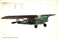 B71562 G-AHlo De Havilland 80 A Puss Moth 1929 avion airplane Spain