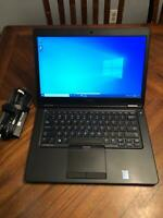 DELL LATITUDE E5450 Intel Core i5-4310U 2.00GHz 128SSD 8GB - Windows 10 P